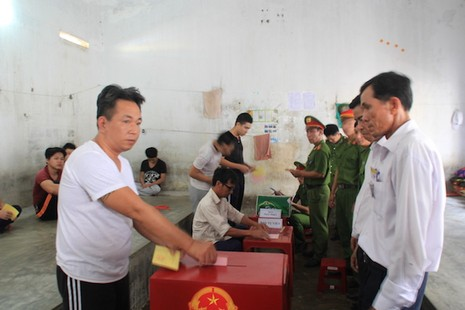 Đà Nẵng: Trên 99% cử tri đi bỏ phiếu - ảnh 1