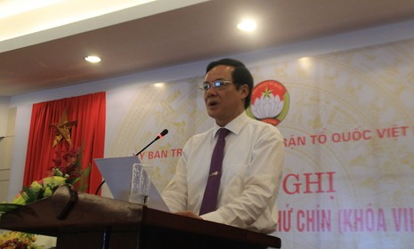Phó Chủ tịch UBTƯMTTQVN Lê Bá Trình