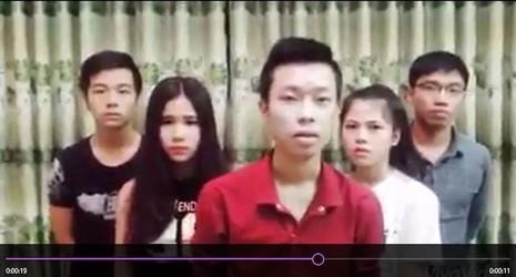 Nhóm bạn trẻ làm clip chế kỳ thi THPT quốc gia lên tiếng xin lỗi  - ảnh 1