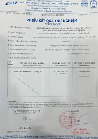 Đà Nẵng: Tạm đình chỉ 'lò' nhuộm gà bằng chất vàng ô - ảnh 3
