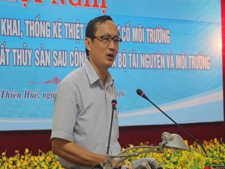 Ông Đặng Ngọc Sơn (Phó Chủ tịch tỉnh UBND tỉnh Hà Tĩnh). Ảnh: NGUYỄN DO