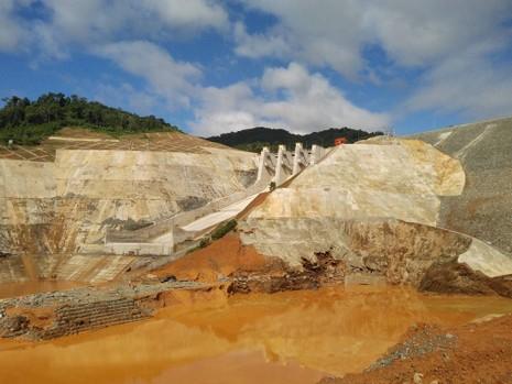 Sự cố thủy điện Sông Bung 2 vẫn chưa được khắc phục - ảnh 1