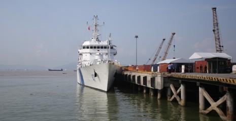 Tàu cảnh sát biển hiện đại của Ấn Độ tới Đà Nẵng - ảnh 2