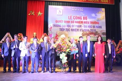 Đại học Sư phạm Đà Nẵng có hiệu trưởng mới - ảnh 1