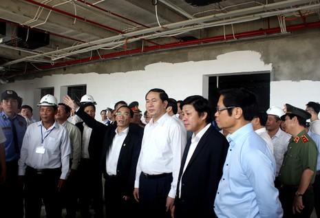 Chủ tịch nước khởi động đồng hồ đếm ngược ở Đà Nẵng  - ảnh 2