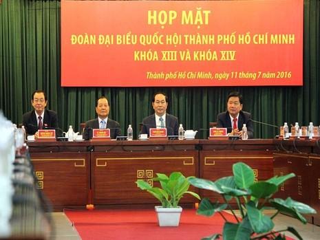 họp mặt đại biểu quốc hội