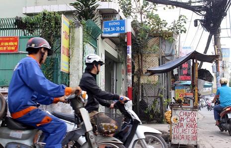 Chùm ảnh: Những tên đường 'có vấn đề' ở TP.HCM - ảnh 2
