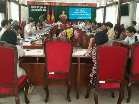 Các Đại biểu đang góp ý cho dự thảo luật sửa  đổii, bổ sung BLHS 2015