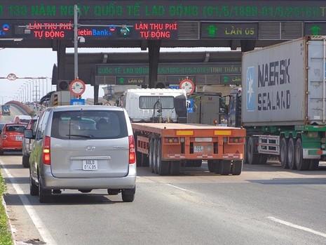 Việc không tăng phí, thu phí tự động qua trạm BOT làm cho tốc độ hàng hóa lưu thông nhanh hơn