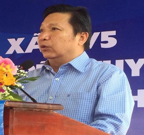 Ông Lê  Hoàng Minh, phó giám đốc Sở GTVT