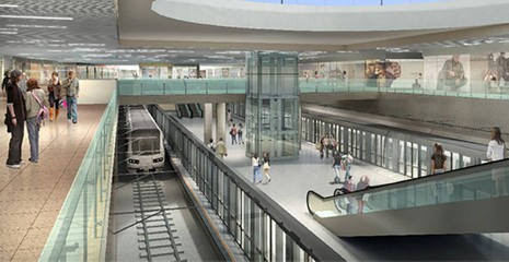 Bắt đầu xây nhà ga trung tâm Bến Thành - ảnh 4