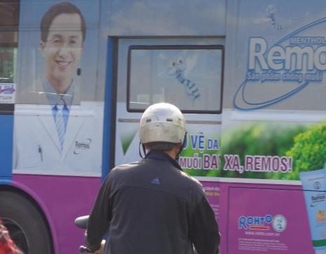 quảng cáo trên xe bus ở tphcm