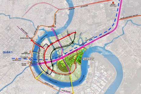 8.700 tỉ dời cảng Tân Thuận và xây cầu Thủ Thiêm 4 - ảnh 1