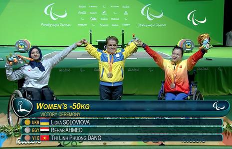 Vượt qua đối thủ Trung Quốc, Linh Phượng đoạt HCĐ cử tạ Paralympic - ảnh 4