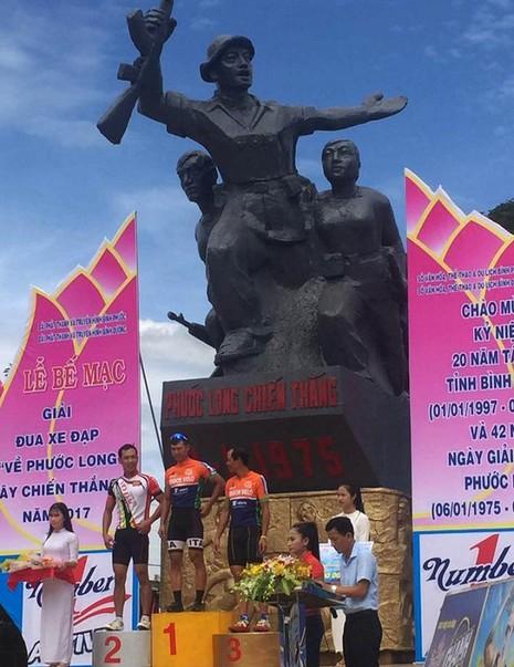 Thái Quốc Tuấn đoạt chiến thắng tại Phước Long - ảnh 1