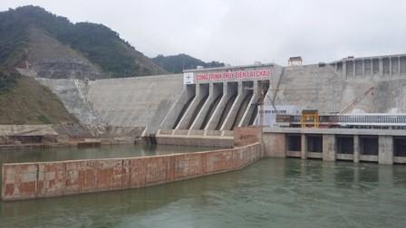 Tổ máy 2 thủy điện Lai Châu chính thức phát điện - ảnh 1