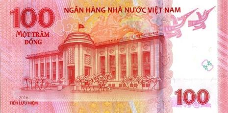 Ngân hàng Nhà nước phát hành tiền lưu niệm mệnh giá 100 đồng - ảnh 2