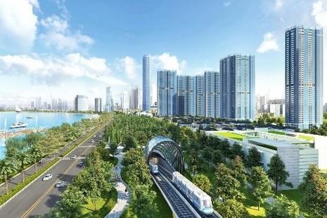 Nhộn nhịp công trường nhà ga metro ngầm Ba Son - ảnh 5