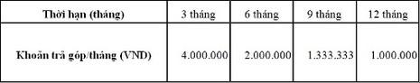 Trả góp không lãi suất với thẻ tín dụng Eximbank - ảnh 2