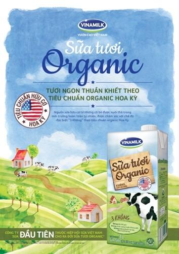 Sữa hữu cơ: Lợi ích tuyệt vời cho sức khỏe - ảnh 1