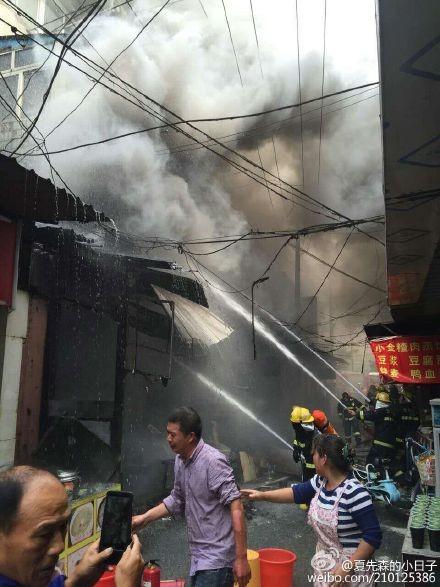 Nổ gas tại Trung Quốc, 17 người chết - ảnh 1
