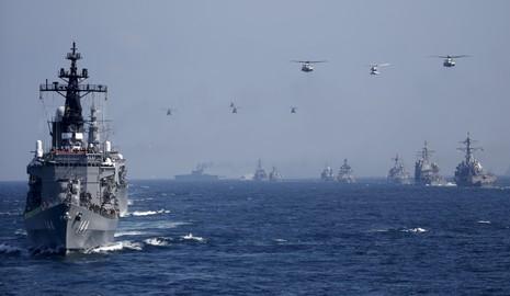 Nhật Bản có thể cùng Mỹ tuần tra biển Đông - ảnh 1