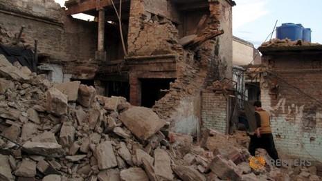 Thảm họa động đất Nam Á: Số người chết gần 300 người - ảnh 1