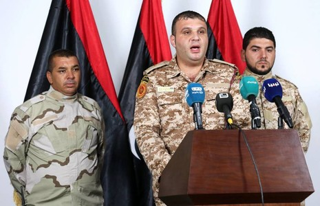 Trực thăng chở quan chức Lybia bị bắn rơi, ít nhất 14 người chết - ảnh 1