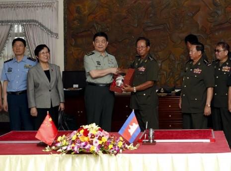 Trung Quốc cung cấp tên lửa phòng không vác vai cho Campuchia - ảnh 1