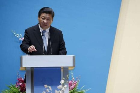 Sang thăm Singapore, ông Tập Cận Bình nói biển Đông là của Trung Quốc - ảnh 1