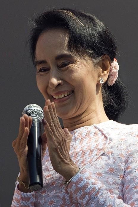 Đảng của bà Suu Kyi thắng lớn trong tổng tuyển cử Myanmar - ảnh 1