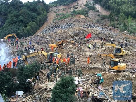Trung Quốc: Sạt lở đất, bốn người chết, 33 người mất tích - ảnh 4