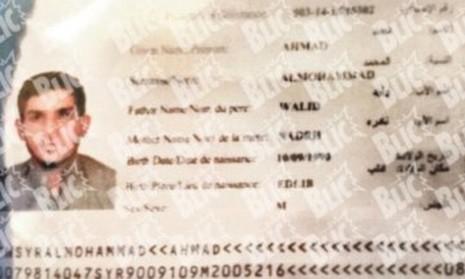 Thông tin ban đầu về tấm hộ chiếu được tìm thấy tại hiện trường khủng bố Paris - ảnh 1