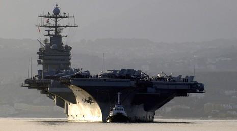 Tàu sân bay Mỹ - Pháp tới Trung Đông phối hợp diệt IS  - ảnh 2
