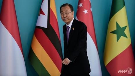 Ông Ban Ki-moon không tới Triều Tiên - ảnh 1