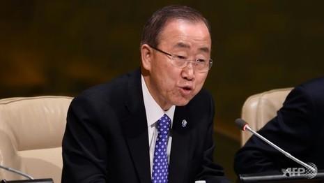 Ông Ban Ki-moon nói nhận được 'tín hiệu tích cực' từ Triều Tiên - ảnh 1
