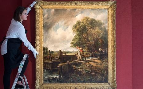 Bức tranh phong cảnh làng quê bán với giá 311 tỉ đồng - ảnh 1