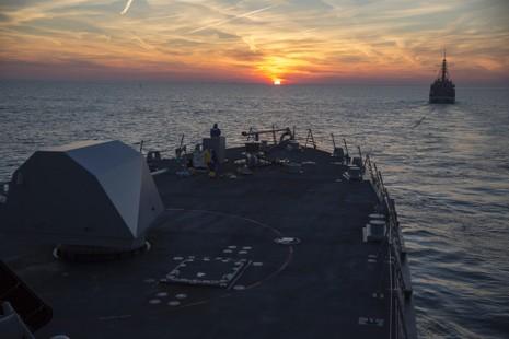 Tàu chiến mới nhất của Mỹ hỏng chỉ sau 20 ngày hạ thủy - ảnh 1