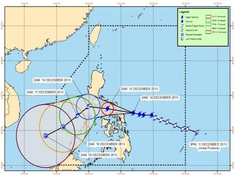 Siêu bão Melor buộc Philippines sơ tán hơn 725.000 dân - ảnh 1