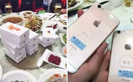 Đại gia Trung Quốc tặng 39 iPhone 6S cho bạn học cũ  - ảnh 1