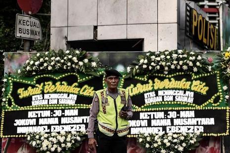 Indonesia bắt ba nghi phạm vụ tấn công Jakarta - ảnh 2