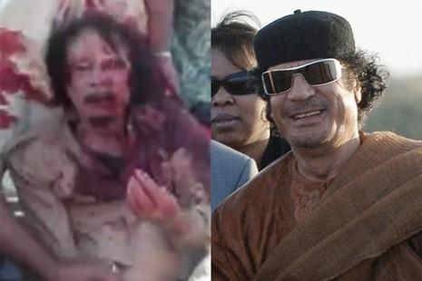 Tiết lộ giây phút cuối cùng trước khi ông Gaddafi bị xử bắn - ảnh 1