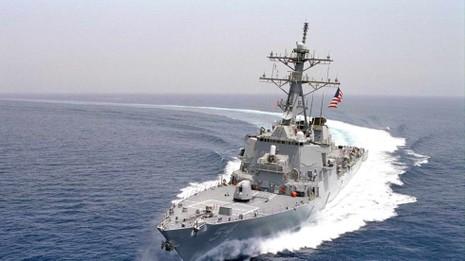 Báo Trung Quốc kêu gọi bắn cảnh cáo, đâm va tàu chiến Mỹ vào Hoàng Sa - ảnh 1