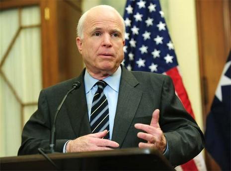 John McCain: 'Mỹ nên trừng phạt Trung Quốc vì vấn đề biển Đông' - ảnh 1