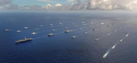 Trung Quốc sẽ gửi tàu chiến tập trận hải quân với Mỹ - ảnh 1
