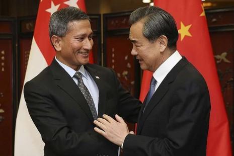 Trung Quốc-Singapore tìm cách giảm rủi ro đối đầu biển Đông - ảnh 1