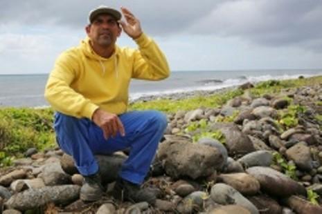 Lại phát hiện mảnh vỡ nghi của MH370 trên đảo Pháp - ảnh 1