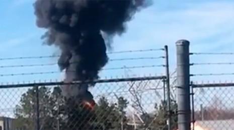 Mỹ: Đóng cửa nhà máy hạt nhân do hỏa hoạn - ảnh 1