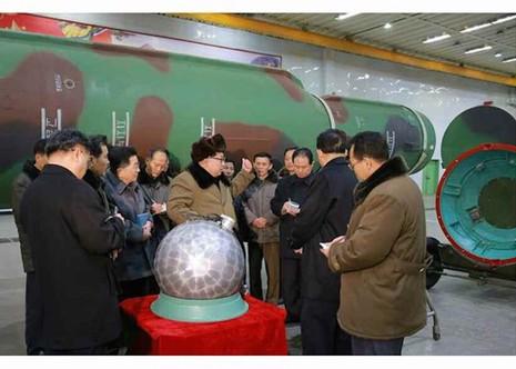 'Đầu đạn hạt nhân thu nhỏ của Triều Tiên là thật' - ảnh 1
