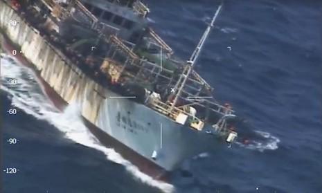 Argentina bắn chìm tàu cá Trung Quốc - ảnh 1